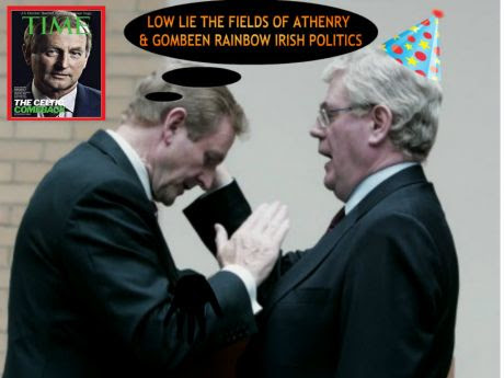 Low lie the Fields of Gombeen Irish Politics