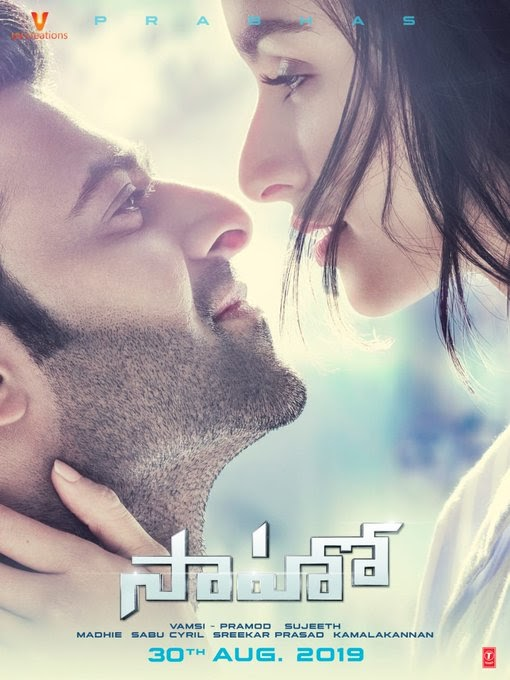 #Saaho Movie New Poster with Release Date