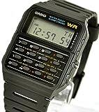 [カシオ]CASIO 腕時計 データバンク 海外モデル カリキュレーター CA-53W-1ZD ブラック[逆輸入]