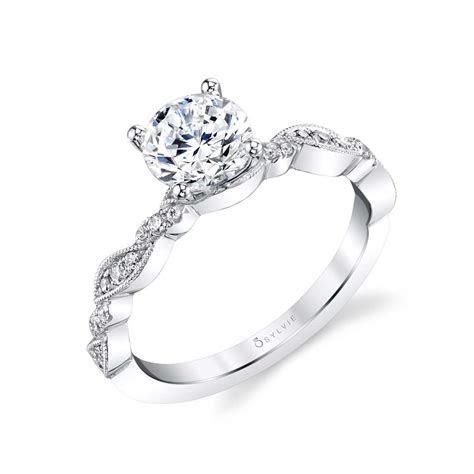 Unique Engagement Ring   Sylvie
