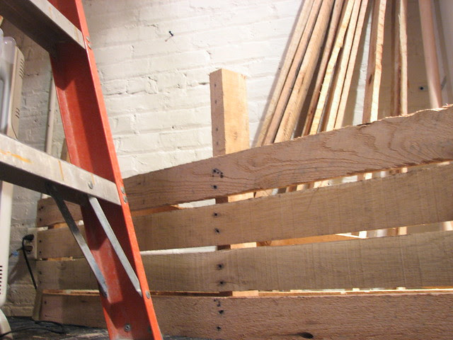 deconstructing pallets