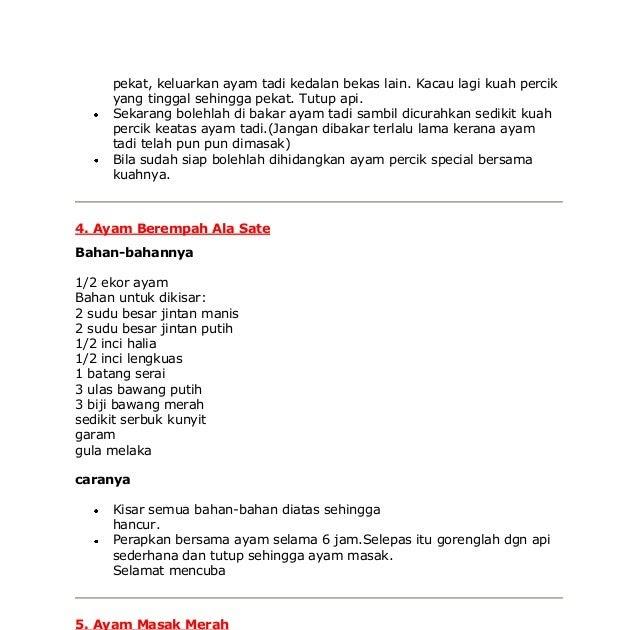 Resepi Ayam Masak Paprik Berkuah - Quotes About b