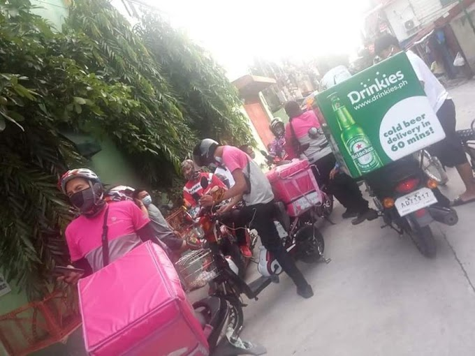More than 10 food delivery riders scammed in Las Piñas City