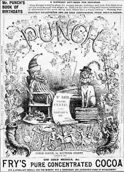 Punch magazine cover from 1867 shows Richard D...