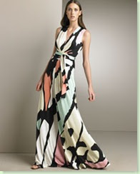 issa london printed gown 051808
