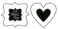 Oh Happy Day stamp/stencil set