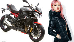 limited edition Triumph Street Triple