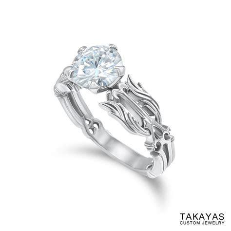 Romantic Gamer Rings : Oathkeeper keyblade engagement ring