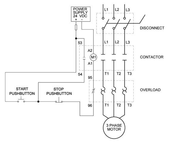 wiring diagram for motor starter clear electronic project box wiring diagram for 3 phase motor  wiring diagram for 3 phase motor