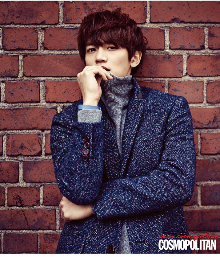 SHINee Minho - Cosmopolitan Magazine November Issue '14