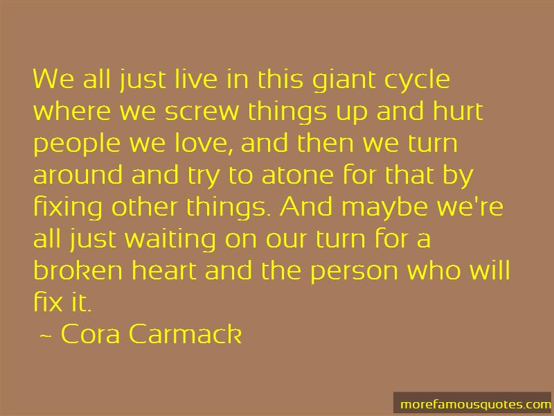 Quotes About Fixing A Broken Heart Top 2 Fixing A Broken Heart