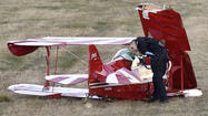 Planes Collide at Carroll County Regional Airport [Pictures]