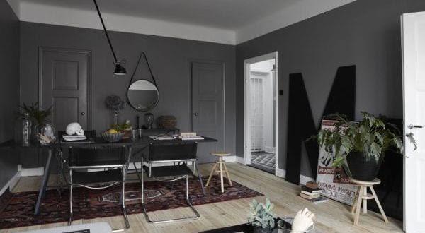 wandfarbe grau-wohnzimmer streichen ideen - fresHouse