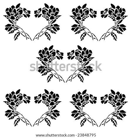 flower clip art. Flowers Clip Art Border.