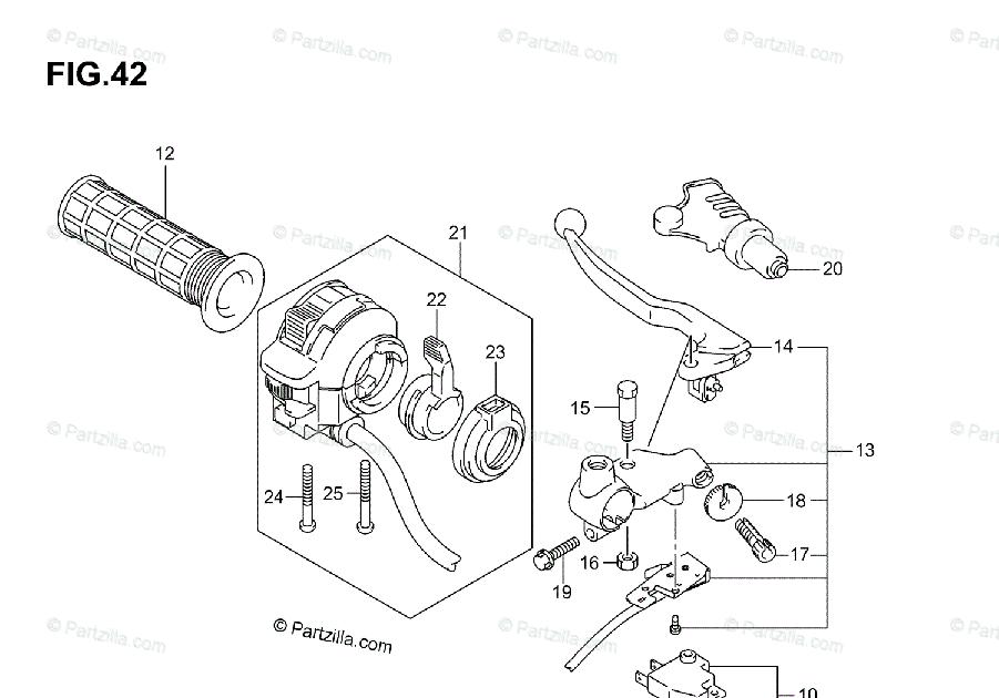 32 Suzuki Vinson 500 Parts Diagram