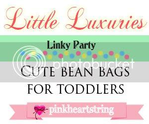 Little Luxuries 1: Cute Toddler Bean Bags