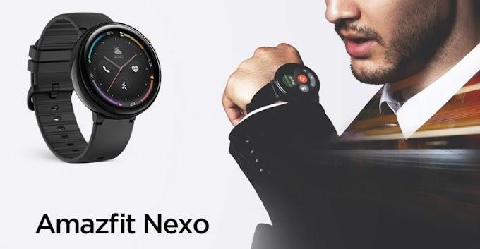 Amazfit Nexo, the Xiaomi sports smartwatch with 4G