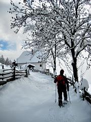 Schneeschuhwandern in Oberinn