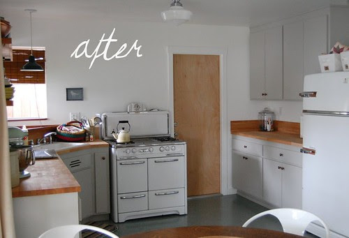 our kitchen after renovation