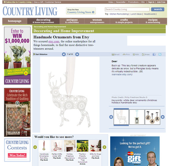country living feature