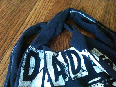 Rocking DIY T-shirt Bag