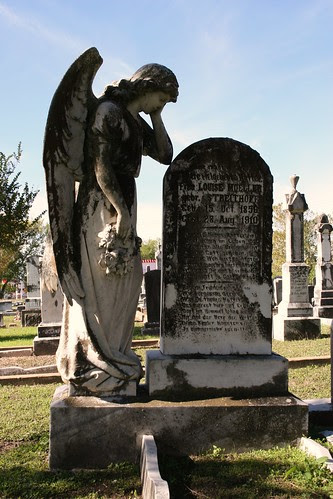 old city cemetery angel