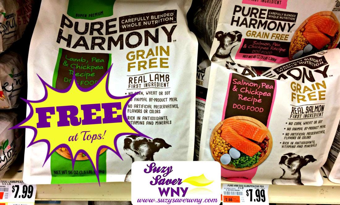 Tops Markets: *HOT DEAL* FREE Pure Harmony Dog Food