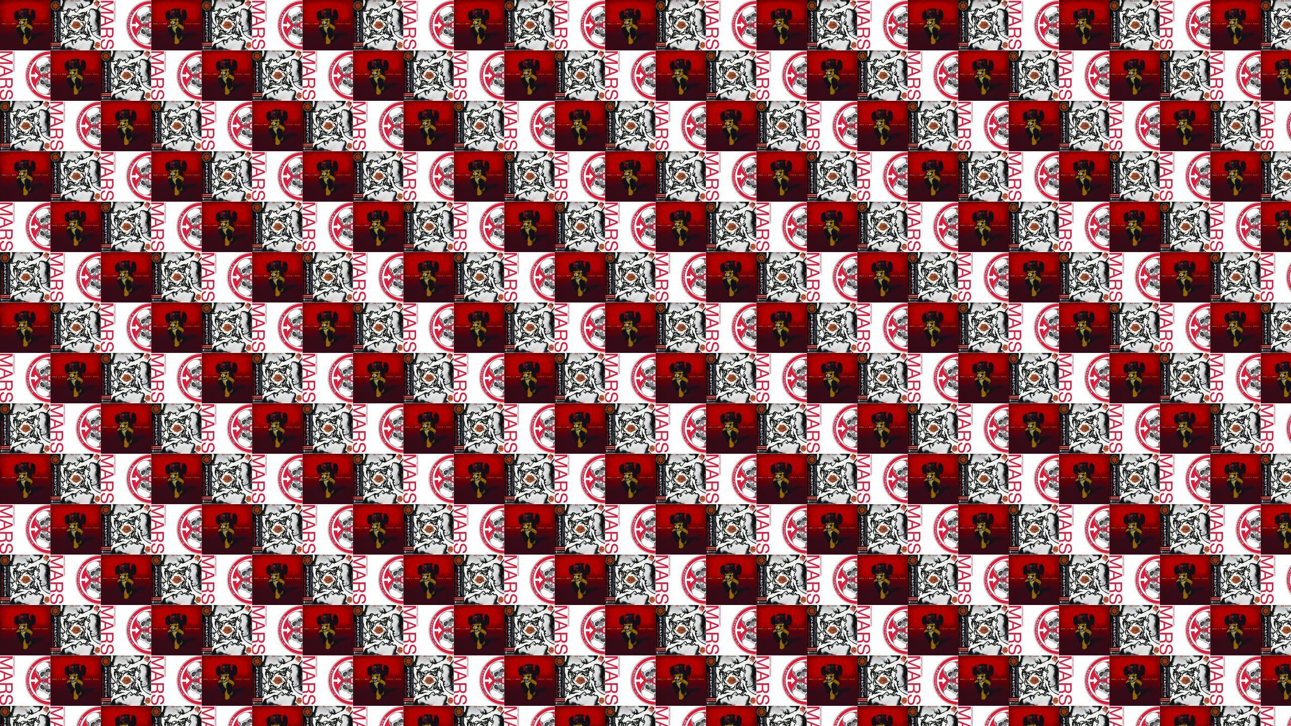 Red Hot Chili Peppers Tiled Desktop Wallpaper