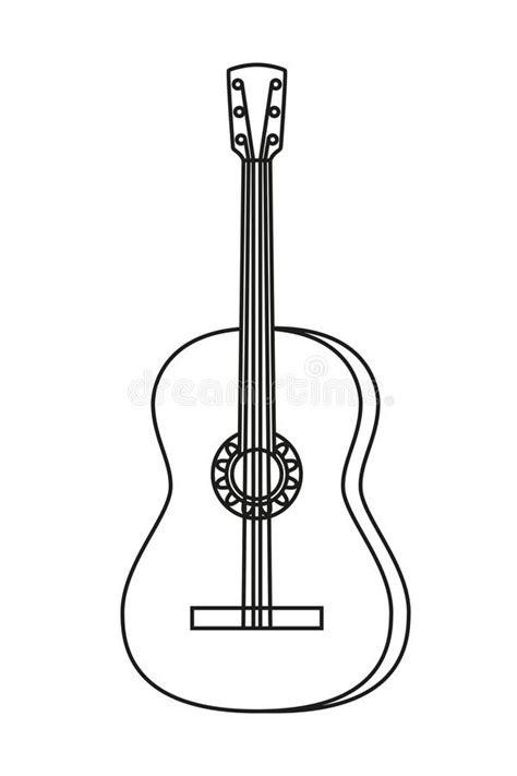 Mexico Acoustic Guitar Stock Illustrations – 256 Mexico