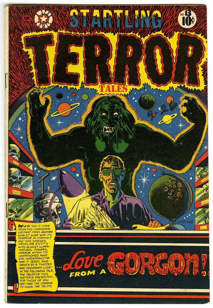 Startling Terror Tales #13 (Star Publications, 1952)
