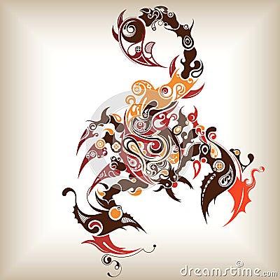 Scorpio Tattoos on Tattoo Scorpion  Click Image To Zoom