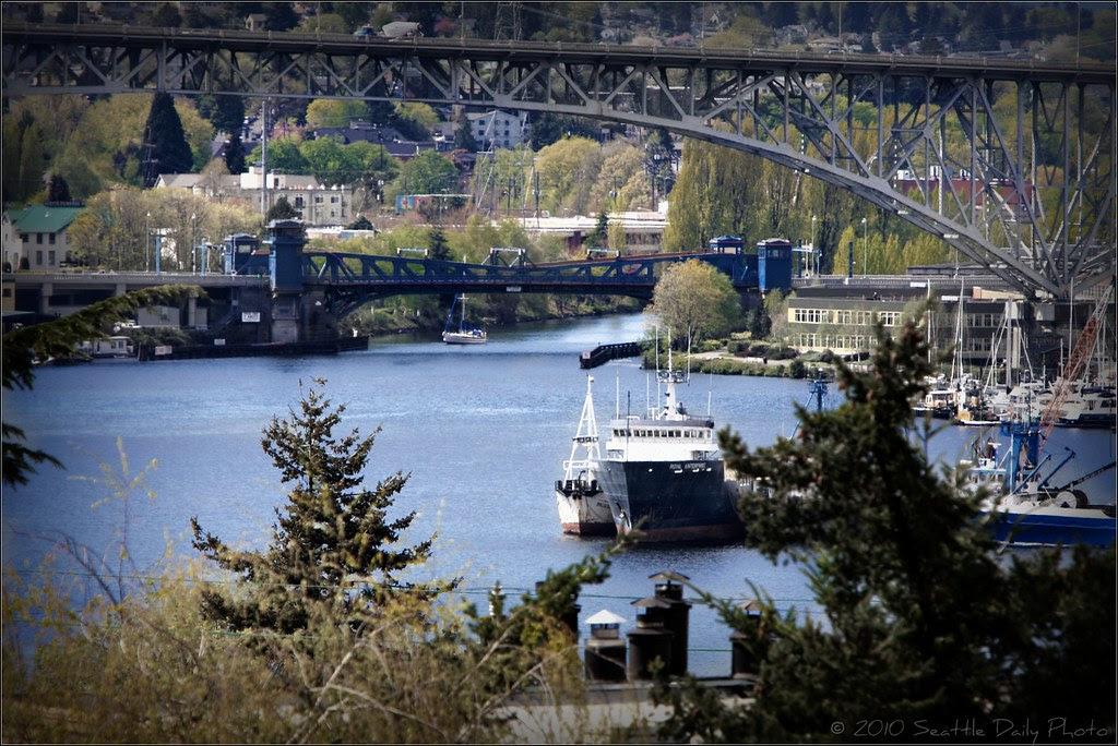 Sunday Bridge Series #3:  Fremont & Aurora Bridges