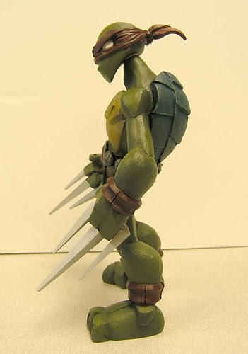 Raphael ii //..sculpt by Nate based on concept by Jason Bischoff of Squid Kids ink. (( 2004 ?! ))