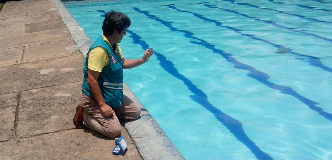 Refuerzan inspección, vigilancia y control a piscinas de uso recreativo