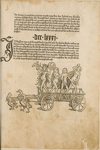 chariot of Venus