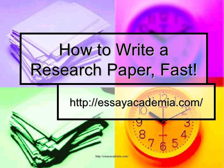 How to Write an Essay Fast and Well - Kibin Blog