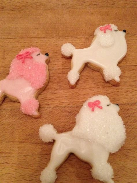 French poodle cookies   Caking   Pinterest   French