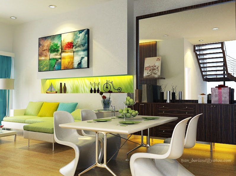 Dining Rooms In Green | Interior Decorating Tips