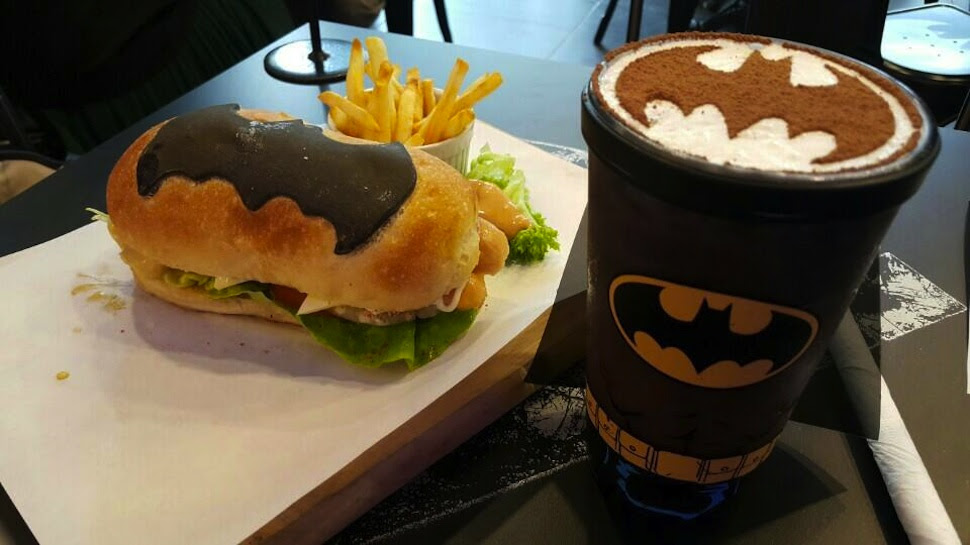 Rise with Some DARK KNIGHT Coffee at the BATMAN Cafe
