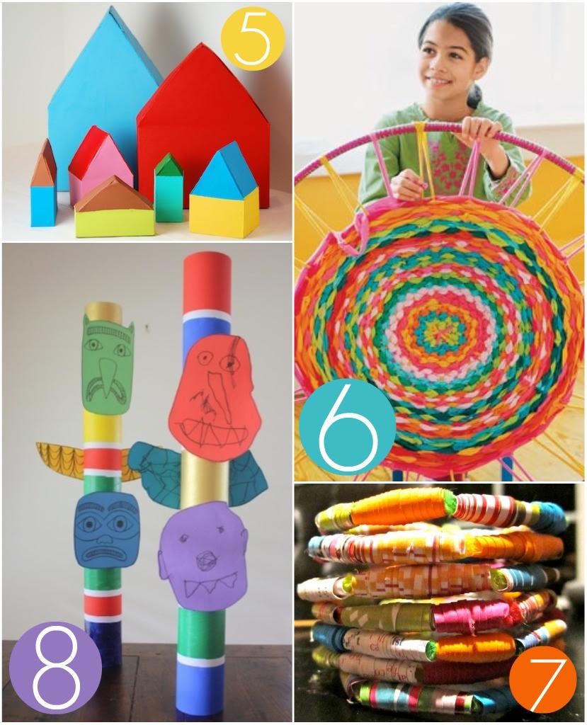 Tutorials: Crafting with Kids \u2013 Oh My! Handmade