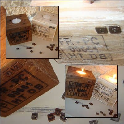 10 Pallet candle jar decoration in wood pallets 2 accessories  with pallet decoration candle jar
