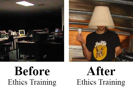 Before-After Ethics Training