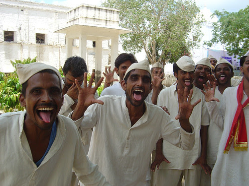Laughter Yoga Session among Prisoners in Udaipur, India