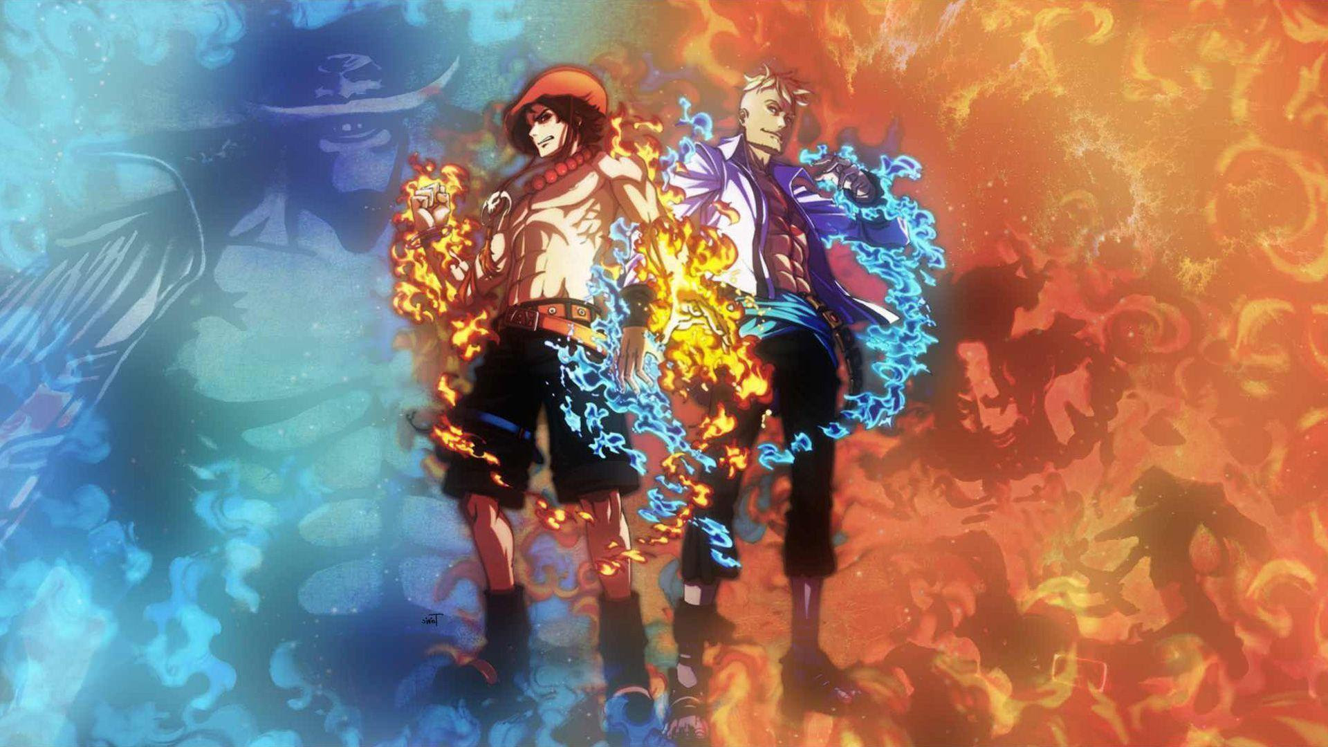 One Piece Ace Wallpapers  Wallpaper Cave