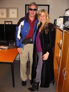 Mike and Sara at National Public Radio