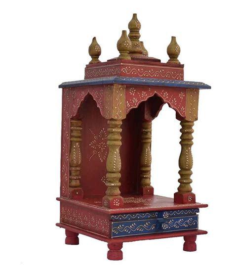 home temple pooja mandir wooden temple temple  home