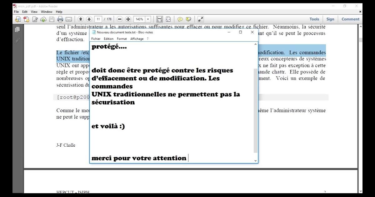 Comment Modifier Un Texte Scanné En Pdf - Exemple de Texte