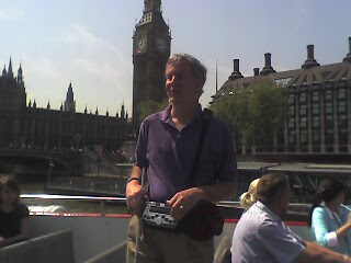 Mike in front of Big Ben
