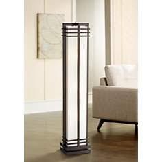 Asian Wood Floor Lamps Lamps Plus Open Box Outlet Site