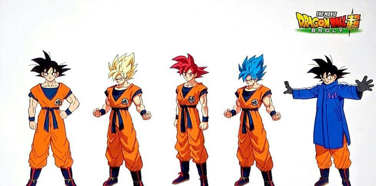 Dragon Ball Super Broly Movie Characters